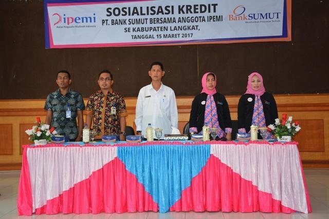 Kerjasama dengan Bank Sumut, IPEMI Langkat Adakan Sosialisasi Kredit Permaisuri