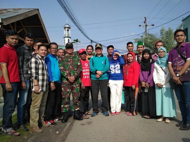 HMI Cabang Medan dan PMI Kecamatan Medan Denai Gelar Bakti Sosial