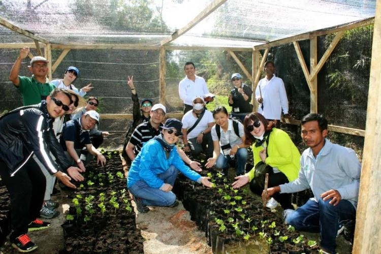Kunjungi Kebun Kopi di Taput, Starbucks Apresiasi Para Petani Hutaginjang