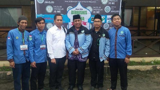 Kapolsek Delitua Hadiri Seminar dan Pelatihan Kewirausahaan BKPRMI Kecamatan Medan Johor