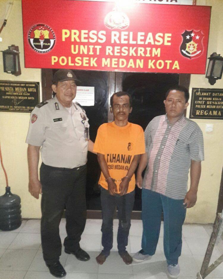 Maling yang Beraksi di Kafe Stadion Teladan Ditangkap Polisi