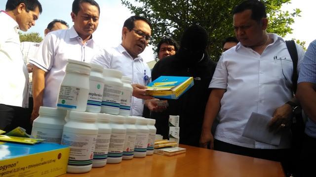 Pil KB dan Obat Palsu Marak Beredar di Sumut, BBPOM Amankan Satu Tersangka