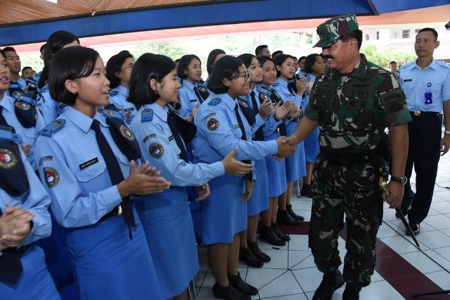 SMA Taruna Nusantara Magelang Berkarakter dan Berkomitmen Tinggi