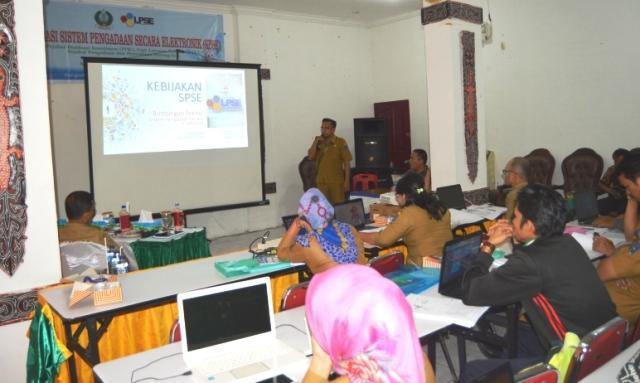 LPSE Kota Sibolga Adakan Sosialisasi dan Bimtek Sistem Pengadaan Secara Elektronik