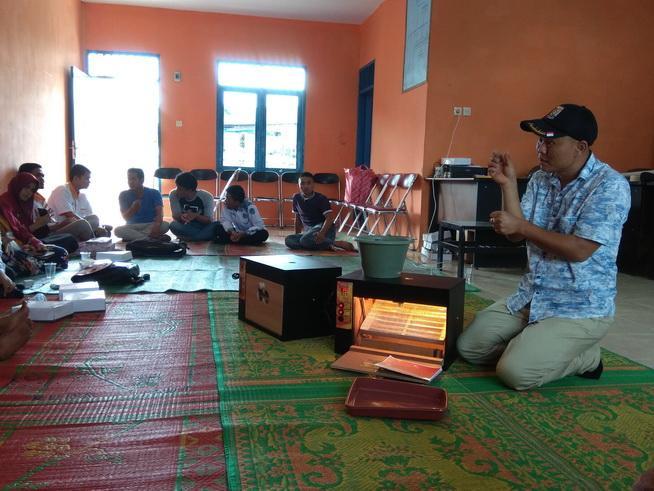 Eks Pengungsi Sinabung di Siosar Kembangkan Penetasan Telur Puyuh
