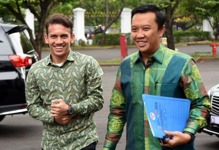 Egy Bertemu Presiden, Presiden Berharap Semakin Banyak yang Mengikuti Prestasi Anak Medan Ini