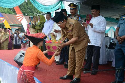 Pawai Taaruf dan Pameran Pembangunan Kabupaten Deliserdang Dibuka