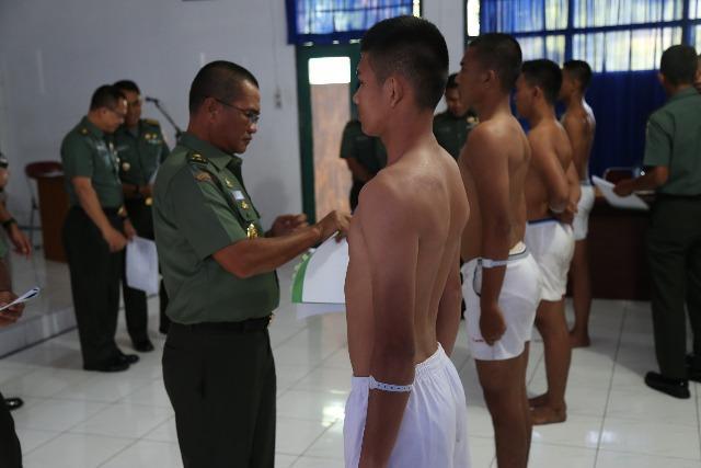 Kasdam I/BB Pimpin Sidang Penerimaan Tamtama TNI AD Khusus Pulau Terluar