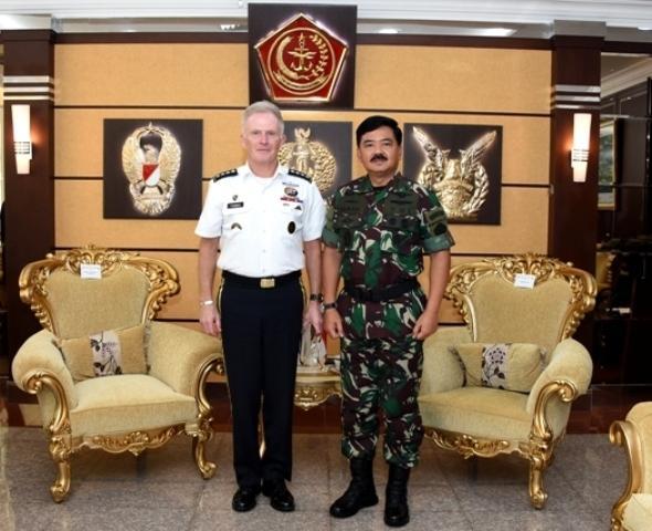 Panglima TNI Menerima Kunjungan Kehormatan Komandan USSOCOM