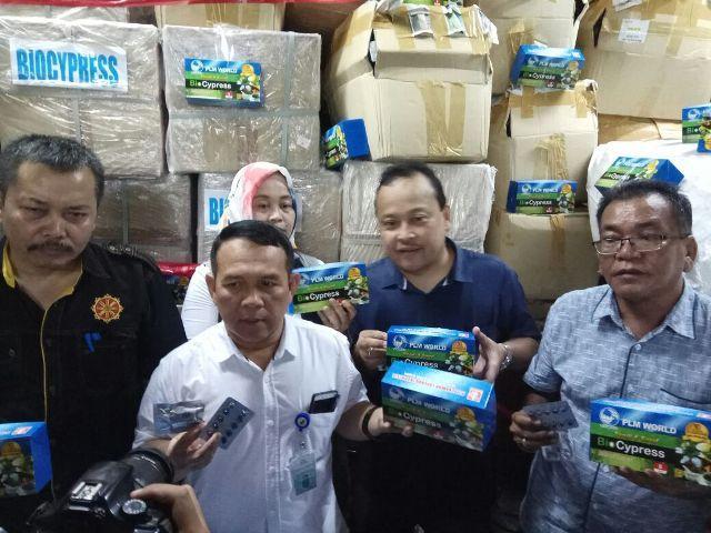 Obat Tradisional Herbal Senilai Rp 2,5 Miliar dari Malaysia Diamankan BBPOM Medan