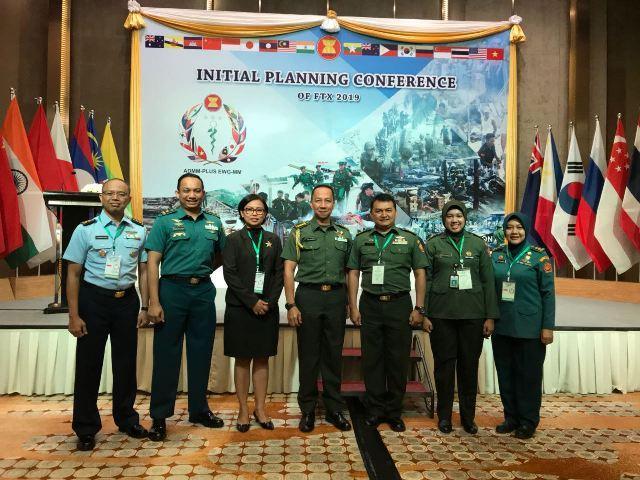 Delegasi TNI Terlibat Pertemuan IPC Plus EWG on MM di Yangon Myanmar