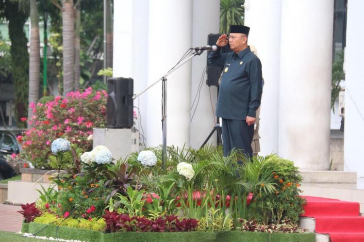 Walikota Medan Pimpin Upacara Hari Kesadaran Nasional