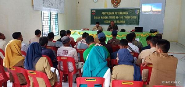 Bersama Muspika, Danramil 16/PT Gelar Deklarasi Pemilu Damai di Simalungun