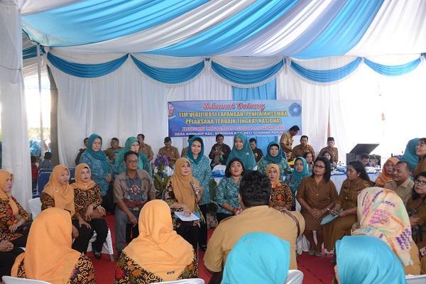 Desa Sidourip Deli Serdang Nominasi Terbaik Tingkat Nasional Kategori Pelaksanaan LBS