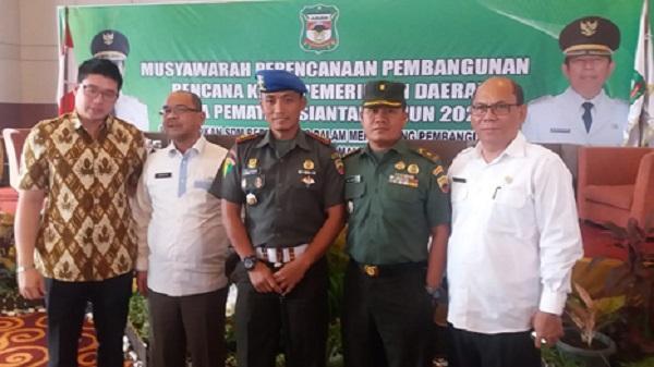 Kasdim 0207/Simalungun Berharap Proses Pembangunan Kota Pematangsiantar di Tahun 2020 Tercapai Sesuai Target