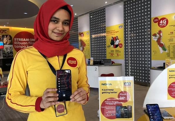 Kolaborasi 4G Plus Indosat Ooredoo Bersama Smartphone Nokia Android