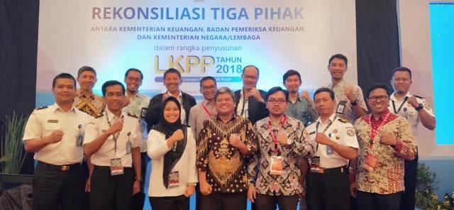 BPK, Kemenkeu, dan Bakamla Gelar Rekonsiliasi Tripartit