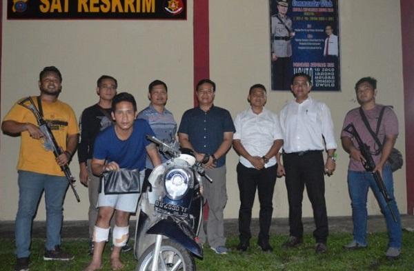 Mau Kabur Saat Ditangkap, Ucok Ditembak Personel Sat Reskrim Polres Nias