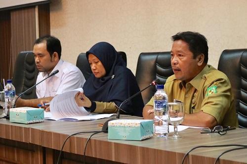 Pemko Gelar Rakor Penyusunan Perjanjian Kerja Perangkat Daerah
