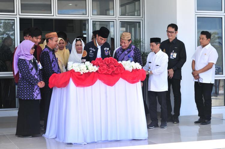 Presiden Jokowi Resmikan Rusunawa Universitas Muhammadiyah Gorontalo
