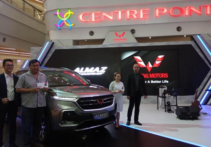 Resmi Diperkenalkan di Medan, Wuling Almaz mulai Dipasarkan di Sumatera Utara