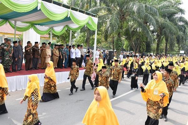 Bupati Lepas Pawai Taaruf dan Buka Pameran MTQ Kabupaten Deli Serdang