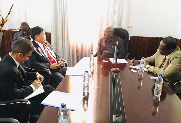 Ratlan Pardede Wakili Indonesia Lakukan Konsolidasi Rencana Kerjasama dengan Mitra Indonesia di Zanzibar