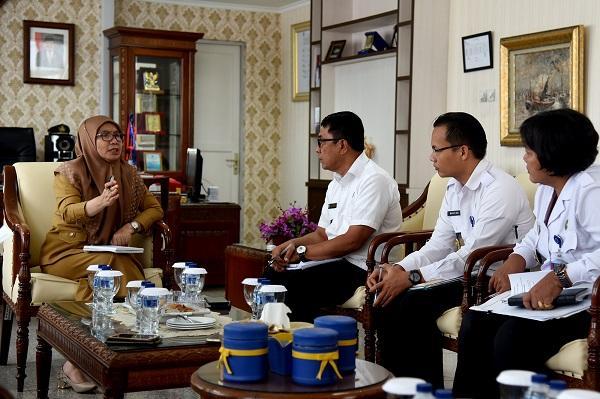 Terima Kunjungan BNN Provinsi Sumut, Sabrina: Lindungi Pelajar dari Bahaya Narkoba