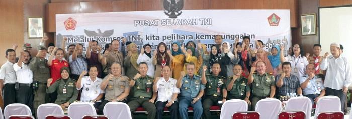 Kapusjarah TNI Canangkan Genta Bangsa di Jakarta Selatan