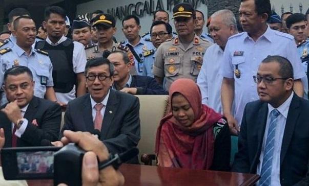 Bebas dari Tuduhan Pembunuhan Kim Jong-nam, Siti Aisyah: Terima Kasih Presiden Jokowi