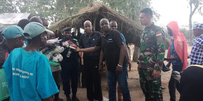 Satgas TNI Konga XXXIX-A RDB Monusco Gelar Joint Activity Mission Baraza