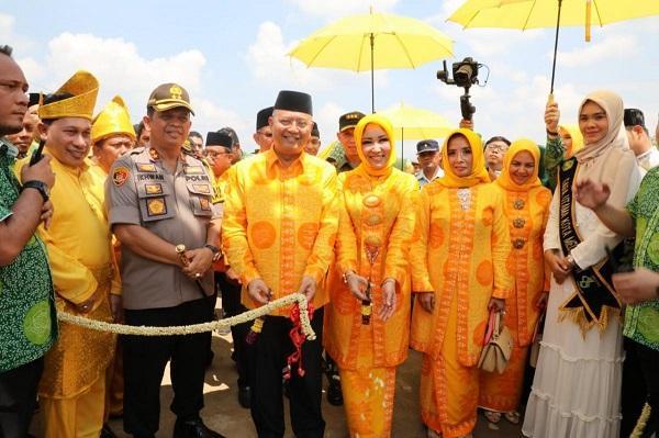 Pembukaan MTQ ke-52 Tingkat Kota Medan di Marelan, Ribuan Kafilah Ikut Meriahkan Pawai Taaruf