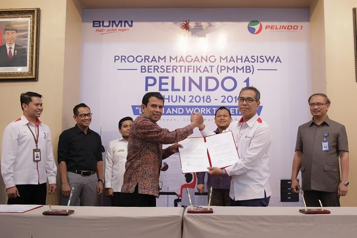Pelindo 1 Gelar Induksi PMMB, Peresmian Program Magang Bersertifikat