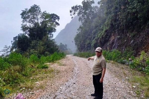 Pj Bupati Berharap ke Pemerintah Provinsi Bangun Jalan Batas Pakpak Bharat-Humbahas