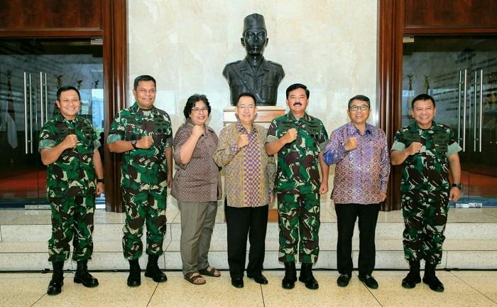 TNI dan UI Laksanakan Kerjasama Bidang Pendidikan dan Penelitian