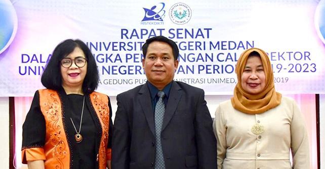 Inilah Tiga Calon Rektor Unimed