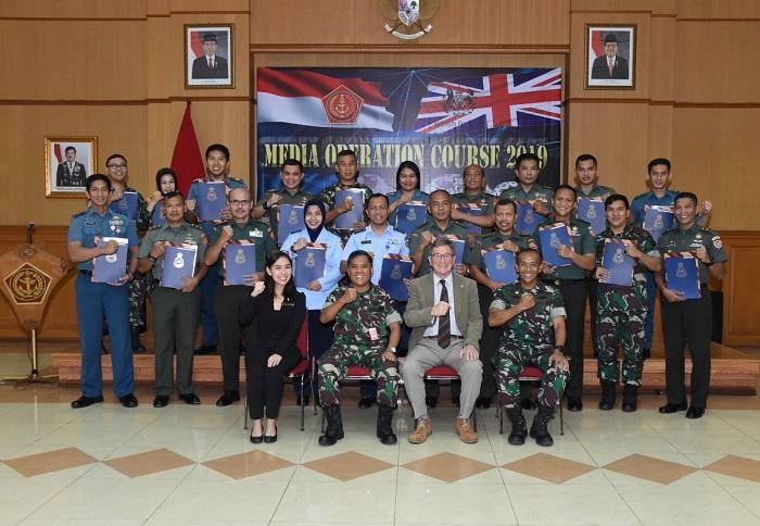 Pelatihan MOC Tempat Berbagi Pengalaman Sinergitas TNI dengan Media