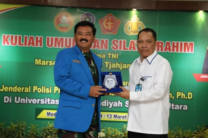 Panglima TNI Kuliah Umum di Kampus UMSU Medan