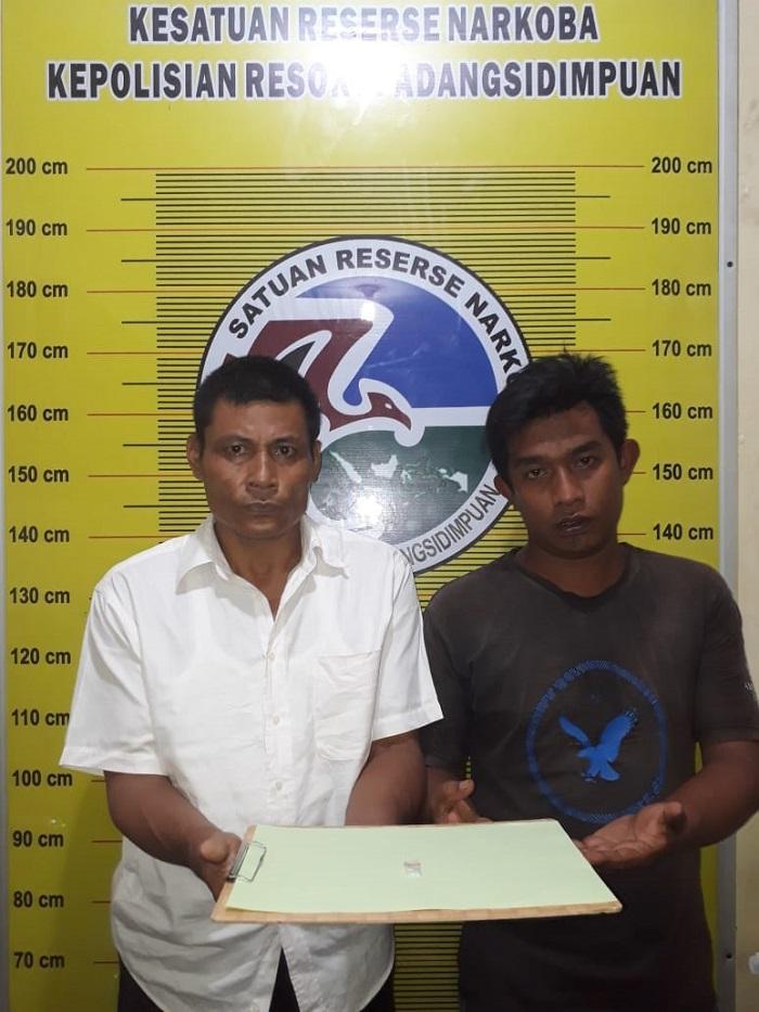 Oknum PNS Dinas KB Tapsel Bawa Sabu, Pelaku dan Rekannya Diringkus Polisi