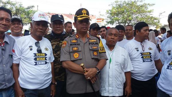 Jalin Kerjasama dengan Masyarakat, Polres Pelabuhan Belawan Bentuk Satgas Keamanan dan Ketertiban