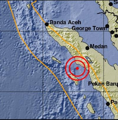 Usai Aceh Singkil dan Nias, Gempa Berkekuatan 5,8 SR Guncang Paluta Senin Malam Tadi