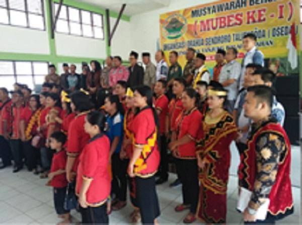 Organisasi Orahua Sendoro Talifusoda Etnis Nias Gelar Mubes di Tanjungbalai