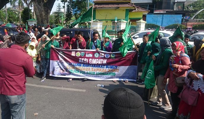 Dukung Kinerja Kapolda Sumut, Aliansi Masyarakat Sumut Gelar Aksi Simpatik di Medan