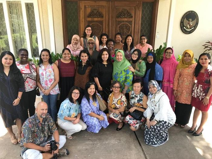 Dharma Wanita KBRI Dar esSalaam Jadi Tuan Rumah Gathering DSG dan Asian Mamas di Tanzania