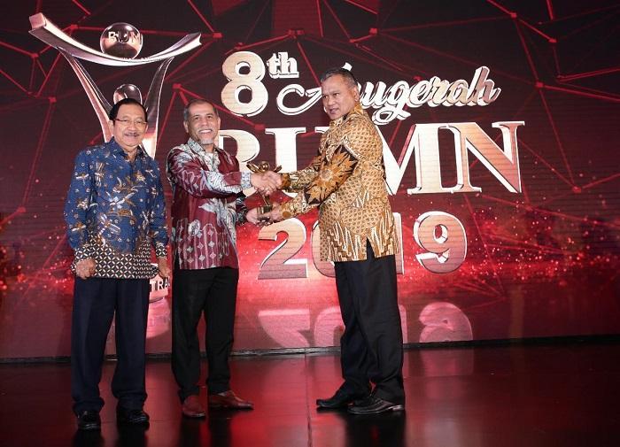 Pelindo 1 Raih The Best Overall Anugerah BUMN 2019