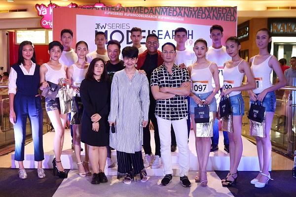 Enam Model Asal Medan Siap Bersaing di Final JFW Model Search 2019