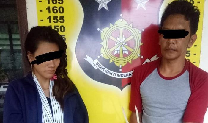 Edarkan Sabu, Anto dan Novi Diamankan Polsek Perdagangan
