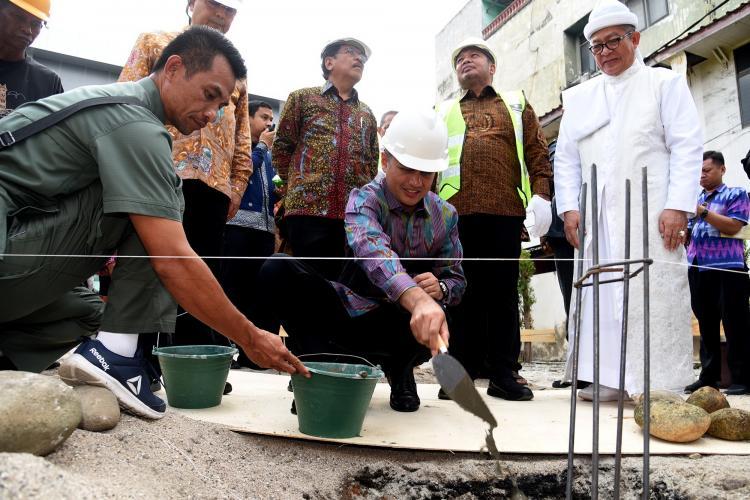 Dampingi Menteri Agraria Resmikan Kantor BPN Sumut, Wagub Harapkan Pelayanan Lebih Terbuka dan Transparan