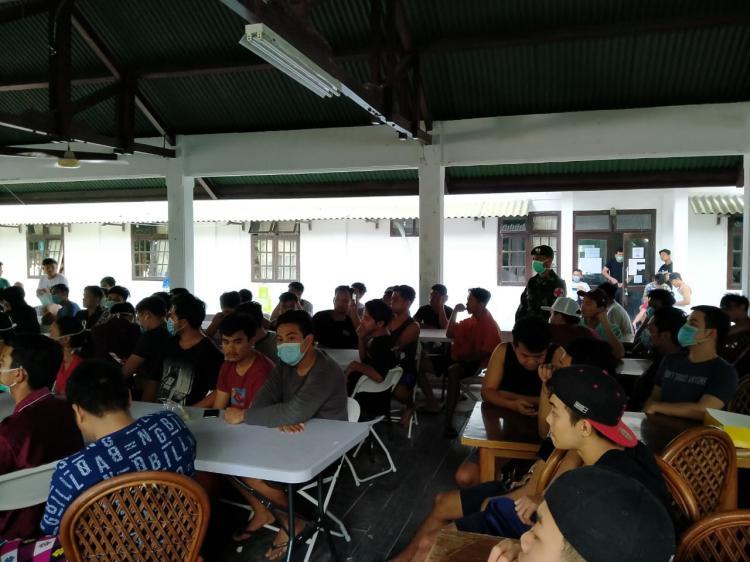 WNI ABK Observasi Pulau Sebaru Terima Penyuluhan Kesehatan