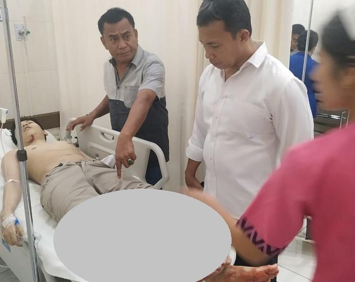 Pria Lompat dari Lantai 7 Thamrin Plaza Medan, Korban Kritis Dibawa ke RS Methodist
